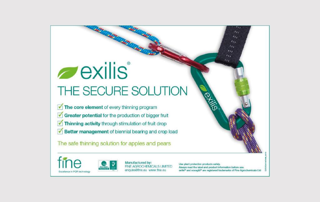 Exilis-advertisement